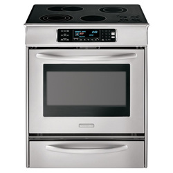 ... Slide-In Self Clean Electric Range (YKESS908SS) - Future Shop - Ottawa