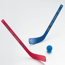 Road Warrior 174 Mini Hockey Set With 2 Hockey Sticks And 1