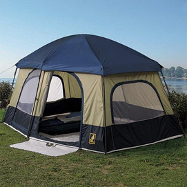 Price $129.95 at Sears Canada & Hillary® Camp Shop 14u0027 x 10u0027 Cabin Tent - Sears Canada - Ottawa