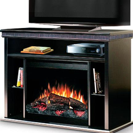 Dimplex TV stand Electric Fireplace with 26 Firebox