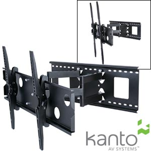 Kanto Articulating Wall Mount For 37 To 65 In Flat Panel