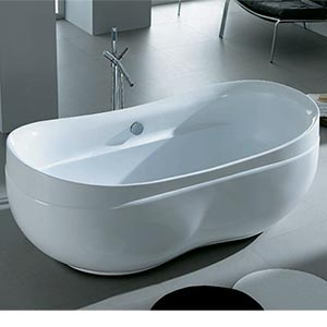 new waves bayle 69 in bathtub costco ottawa. Black Bedroom Furniture Sets. Home Design Ideas