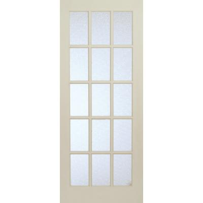 milette interior 15 lite french door primed with martele For15 Lite French Door