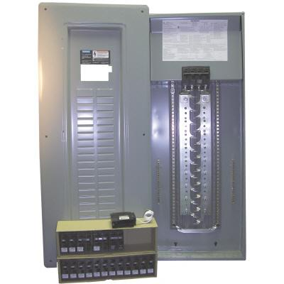 Square D Load Center Wiring Diagram: Wiring Diagram 125 Amp Load Box Together With 200 Outdoor Breaker    ,