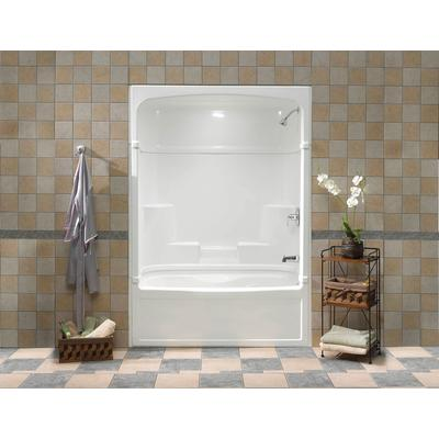 Mirolin Victoria 60 Inch 3 Piece Tub And Shower Whirlpool