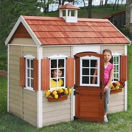 Big Backyard 'Savannah' Wooden Playhouse - Sears Canada ...