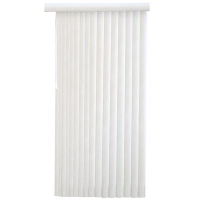 designview 3 1 2 inch vertical blinds white 104 inch x