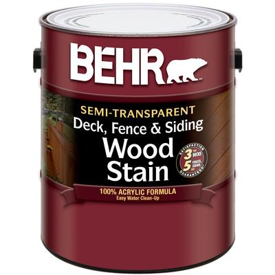Behr Semi Transparent Deck Fence Siding Wood Stain Home Depot Canada Ottawa