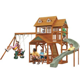 Big Backyard by Solowave® 'Willowdale' Wooden Play Centre ...