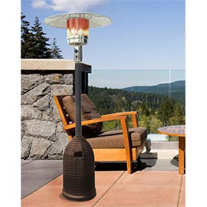 Fire Sense Stainless Steel Commercial Patio Heater - Patio