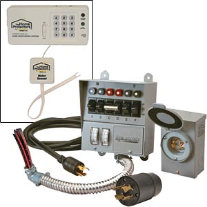 Reliance Controls 6-circuit Power Transfer Switch Kit with Phone-out
