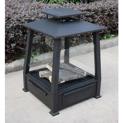 Paramount Gel Fuel Outdoor Fireplace With Ceramic Log Set Home Depot Canada Ottawa