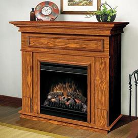 Dimplex Ashley pact Electric Fireplace Medium oak