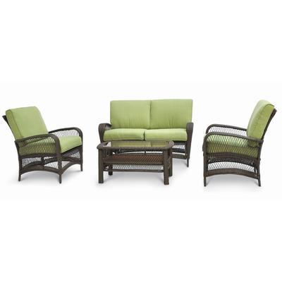 Martha Stewart Living Lanfair 4 Piece Conversation Set Home Depot Canada Ottawa