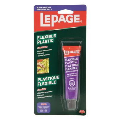 Lepage Lepage Flexible Plastic Adhesive Home Depot
