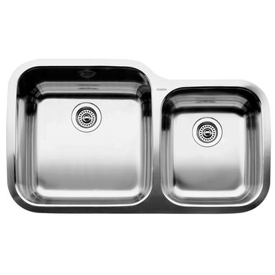 BLANCO 1 3/4 Bowl Undermount Stainless Steel Kitchen Sink - Home Depot ...