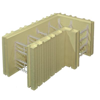 Advantage icf system advantage icf system 8inch 90 degree for Icf block prices