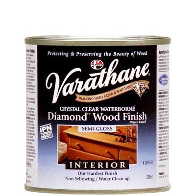 Varathane Diamond Wood Finish - Int. (Water, Satin) (236ml ...