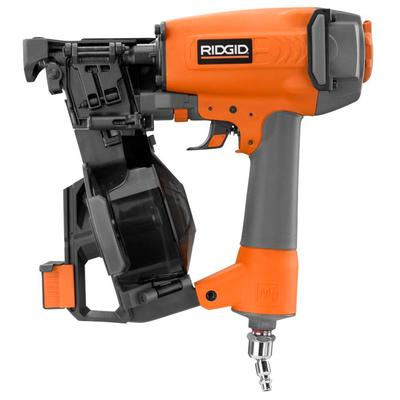 Ridgid Roofing Coil Nailer 1 3 4 Inch Home Depot