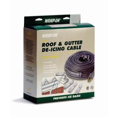 Waterline Roof Amp Gutter De Icing Cable 40 Feet Home