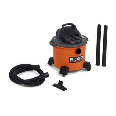 Ridgid Wet/Dry Vac WD I've been needing a new shop vac for a while now to replace an old 10 gallon ShopVac brand one. I liked my old vac, especially it's relatively compact size, but always thought it could use a bit more power. Long story short, we chatted a bit and I drove over to Home Depot and picked up the WD