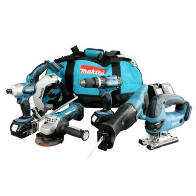 Makita Cordless Combo Kit – 6 Tools