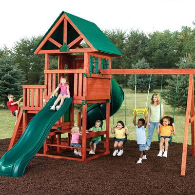 Swing-N-Slide Southampton Wood Complete Play Set - Home ...