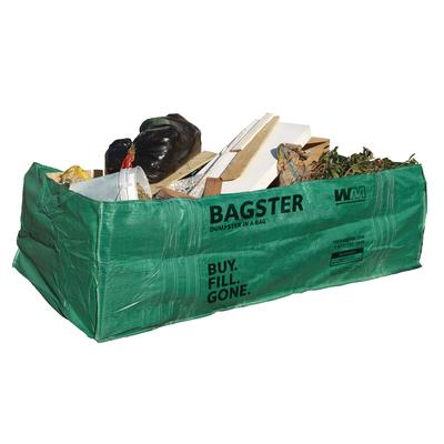 Waste Management Bagster Dumpster In A Bag Home Depot