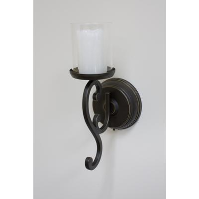 Wall Sconces With Battery Operated Candles : Inglow Battery Operated Flameless Single Candle Wall Sconce - Home Depot Canada - Ottawa
