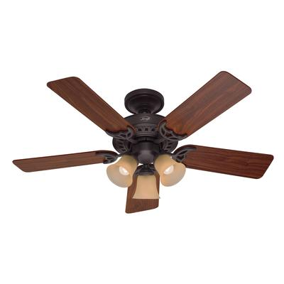 Hunter Stonington New Bronze Ceiling Fan