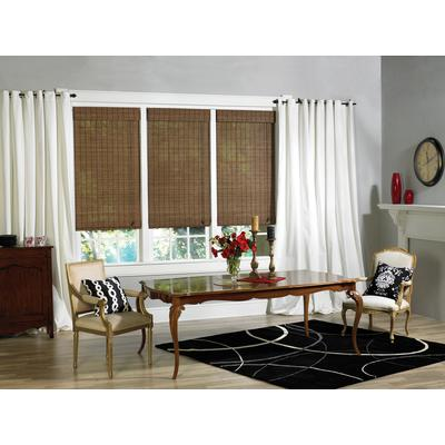 Earthwise Victoria Hills Bamboo Roman Shade Natural 30
