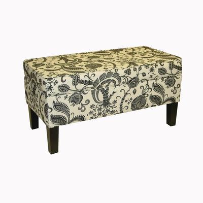 Skyline Furniture Upholstered Storage Bench In Desmond Domino Home Depot Canada Ottawa