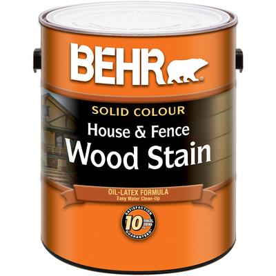 Behr Solid Colour House Fence Wood Stain Home Depot Canada Ottawa