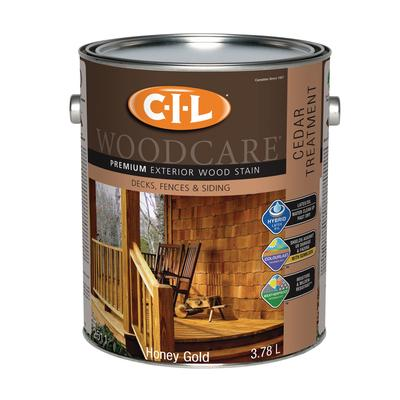 Cil woodcare premium exterior wood stain cedar treatment - Exterior wood treatment products ...