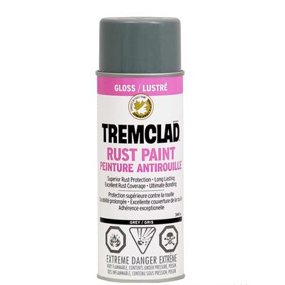 Tremclad Rust Paint Grey 340g Aerosol Home Depot Canada Ottawa