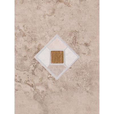Dal Tile Fresco Caf 9x12 Decorative Wall Tile Home