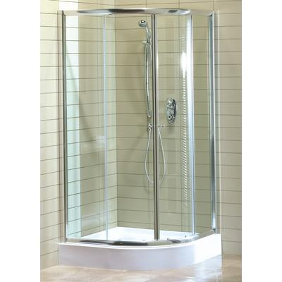 Keystone by maax magnolia round acrylic shower kit home - Home depot bathroom tile installation cost ...