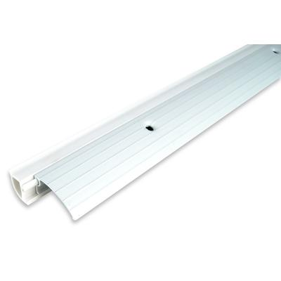 Tago 36 in aluminum bumper threshold white home depot for Home depot door threshold