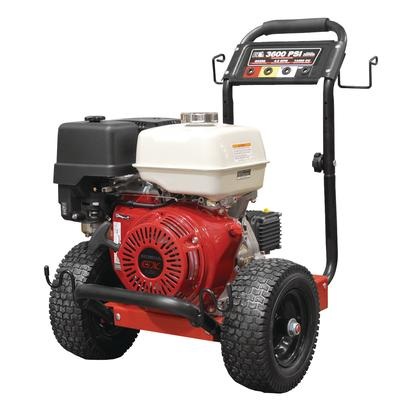 how to change oil power washer