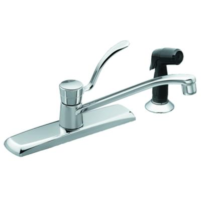 moen chrome one handle kitchen faucet home depot canada