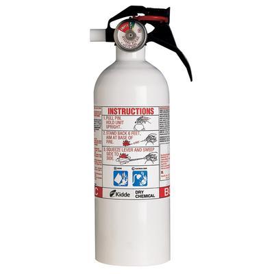 Kidde Home Series White Fire Extinguisher Home Depot