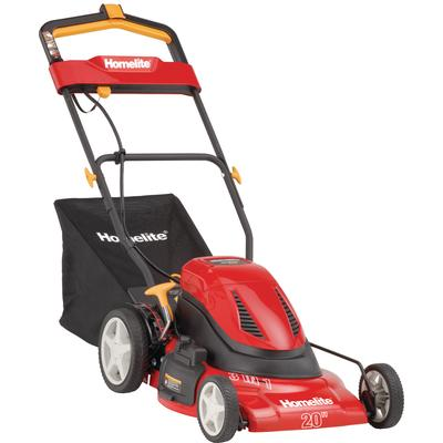 Homelite 20 cordless electric mower home depot canada for Gardening tools ottawa
