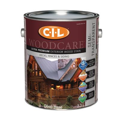 Cil Woodcare Ultra Premium Semi Transparent Stain Deep Base 3 3 Litre Home Depot Canada Ottawa
