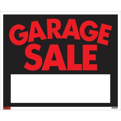 klassen bronze 19 x 24 jumbo sign garage sale home