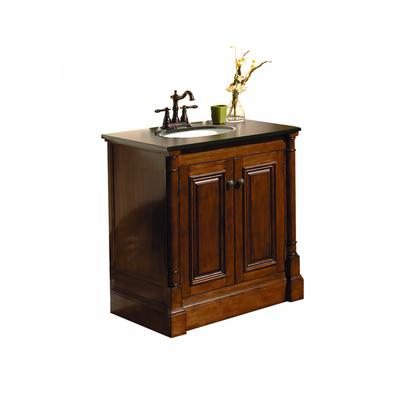 Magick Woods 30 In. Wentworth Vanity Base - Home Depot ...