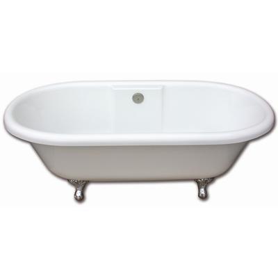 Acri Tec Edwardian 5 5 Foot Clawfoot Tub With Brushed