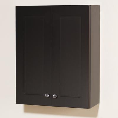 Magick Woods Dark Chocolate Wall Storage Cabinet 26