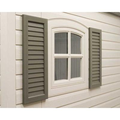 Lifetime Products Shutter Kit 2 Piece 8 Feet And 11 Feet Wide Home Depot Canada Ottawa