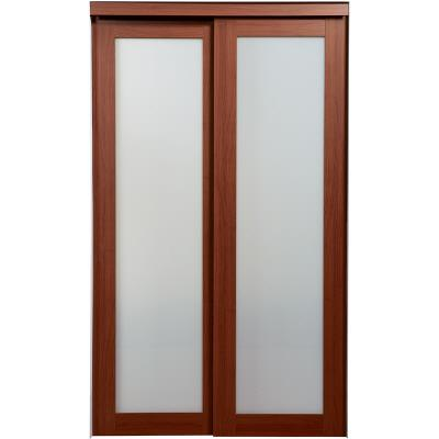 cherry 1 lite bi pass closet doors home depot canada ottawa