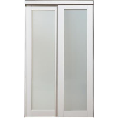 Nuporte 1 lite bi pass closet doors 2010 4880 white home depot canada ottawa - Home depot canada sliding closet doors ...